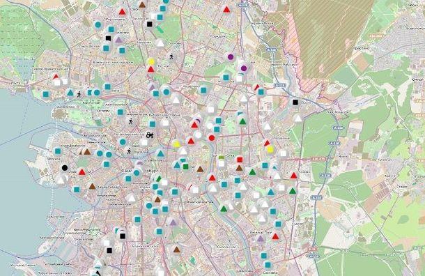 Петербургские улицы убирает около 60 машин