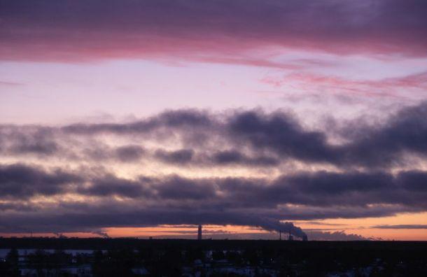 Петербург попадет под влияние западного циклона