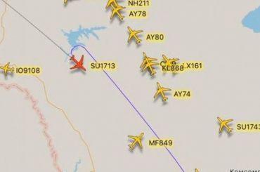 Неизвестные сообщили оминировании самолета компании «Аэрофлот»