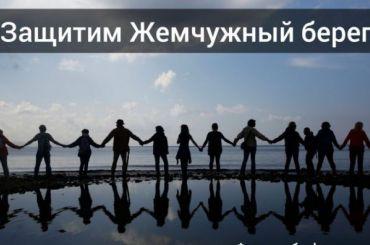 Активисты обнимут Жемчужный пляж, чтобы защитить его отзастройки