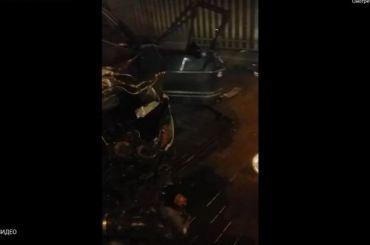 «Подумала было, что взрыв»: очевидцы обаварии науглу Измайловского