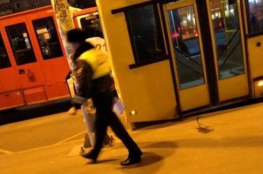 Автобус по12-му маршруту оставлял засобой кровавый след