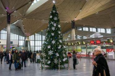 Аэропорт Пулково вновогодние каникулы принял свыше 758 тысяч пассажиров