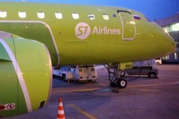 Самолет экстренно сел вМоскве из-за угрожавшей себя взорвать пассажирки
