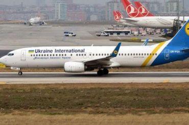 Наборту упавшего украинского самолета под Тегераном небыло россиян