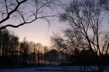 Петербургская ночь на6января оказалась самой морозной зазиму