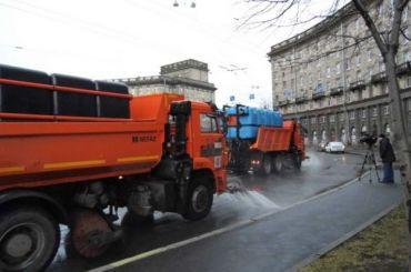 Всего пять тысяч тонн соли использовали вПетербурге зимой