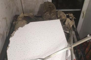 Ремонт обрушившегося наребенка потолка готовы начать 19января