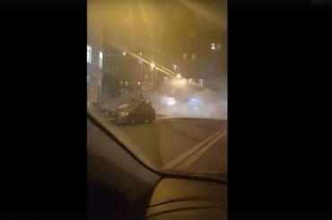 Трубу прорвало наСтарорусской улице