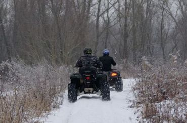 Отец идочь погибли под Кировском после катания наквадроциклах