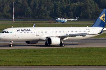 Самолет изПетербурга вАлма-Ату вылетит сопозданием