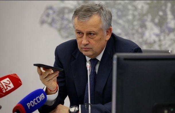 Дрозденко рассказал офейковых губернаторах Ленобласти