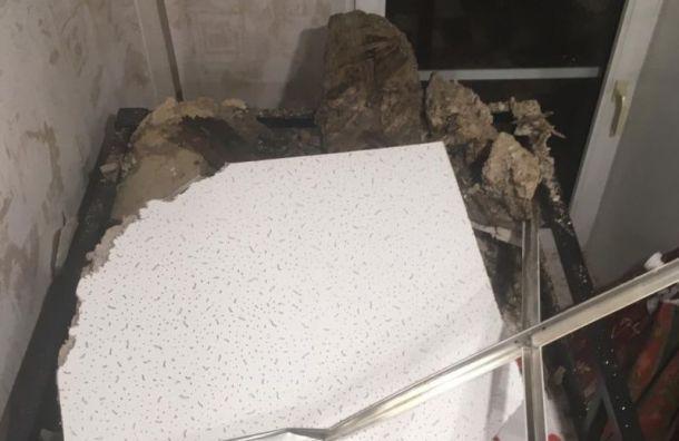 Бастрыкин поручил возбудить уголовное дело после обрушения потолка вПетербурге