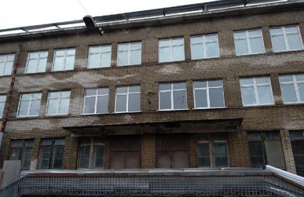 Аварийные плиты перекрытия нашли вгимназии №406 вПушкине