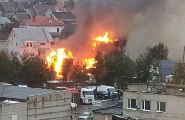 Пожар вдоме впоселке Новоселье потушили