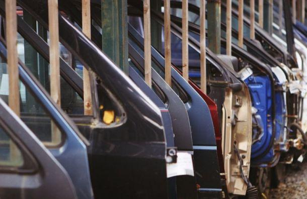 Объем производства автопрома вПетербурге упал вянваре на5%