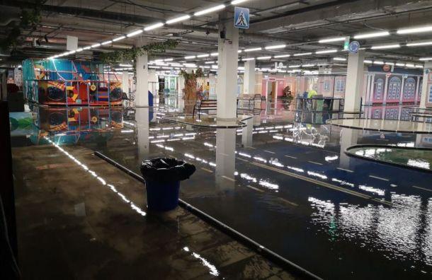 ТРК «Континент» наБайнокурской закрыли из-за потопа