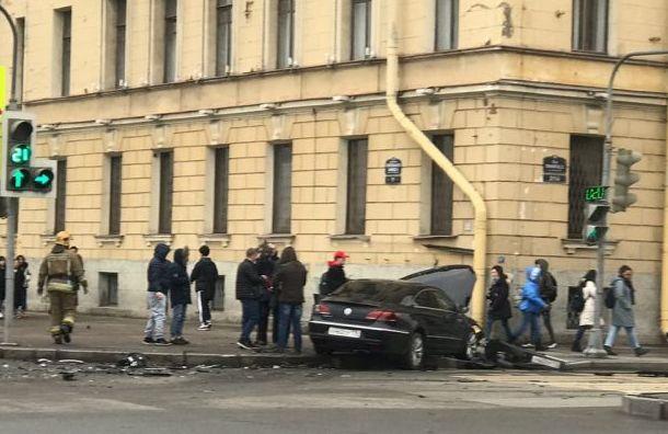 Два человека пострадали ваварии наЛейтенанта Шмидта