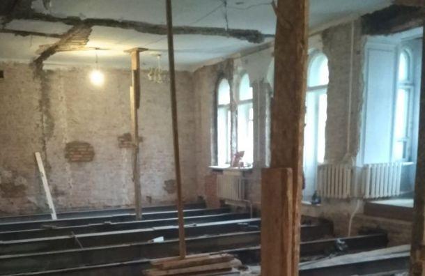 Капитальный ремонт дома Мурузи пообещали закончить вапреле