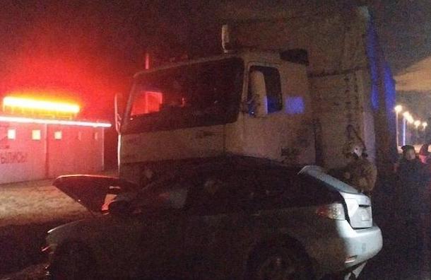 Два человека погибли вДТП наЛенинградском шоссе