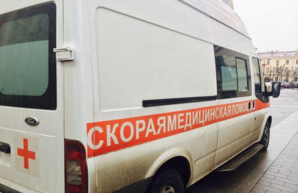 Женщина идвое детей пострадали при пожаре наулице Бадаева