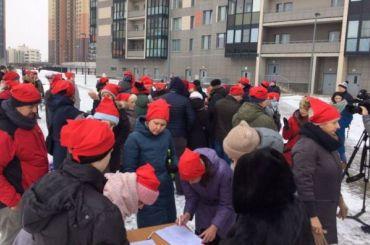 Жители Красносельского района вышли нанародный сход