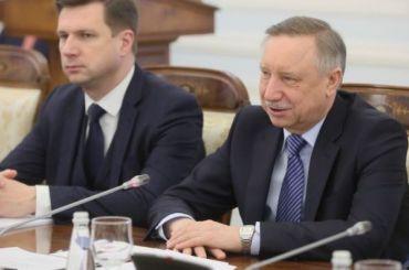 Беглов проигнорировал собеседницу Путина