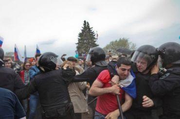 Правительство России предложило ООН свой взгляд намитинги