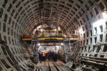 ГАТИ разрешила бурить скважины для коричневой икольцевой линии метро