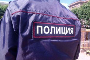 Полиция Кронштадта задержала школьников задвухметровую свастику наснегу