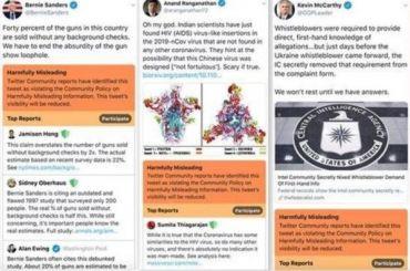Twitter начнет выделять фейковые политические сообщения