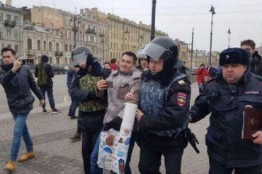 Число задержанных наакции взащиту Конституции возросло до15 человек