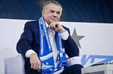 Гендиректор «Зенита» выступил сзаявлением поКокорину