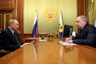 Для Петербурга нежалко: Путин обсудил сБегловым создание арт-парка