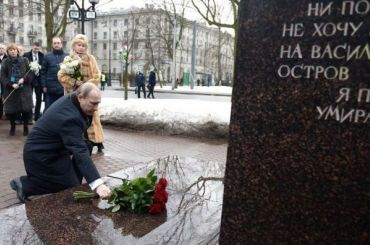 Путин приедет вПетербург почтить память Собчака