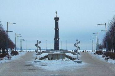 Парк 300-летия Петербурга погрузился вотьму