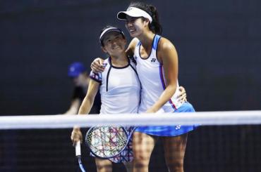Теннисистки изЯпонии выиграли парный турнир наSt. Petersburg Ladies Trophy