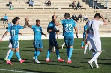 «Зенит» втоварищеском матче разгромил грузинский «Сабуртало»