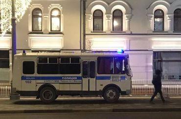 Московская полиция задержала 70 человек вкальянной вовремя рейда