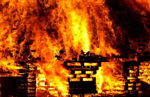 Три сгоревших тела нашли после пожара вТосненском районе
