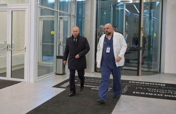 Главврач больницы вКоммунарке Проценко заразился коронавирусом