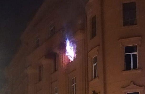 Женщину доставили вбольницу после пожара вкоммуналке наКарповке
