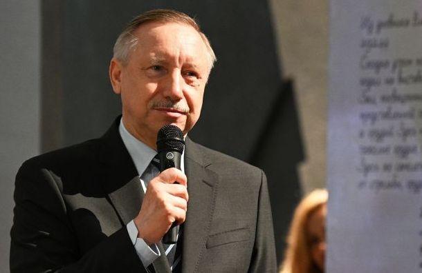 Беглова включили впятерку самых цитируемых вСМИ губернаторов
