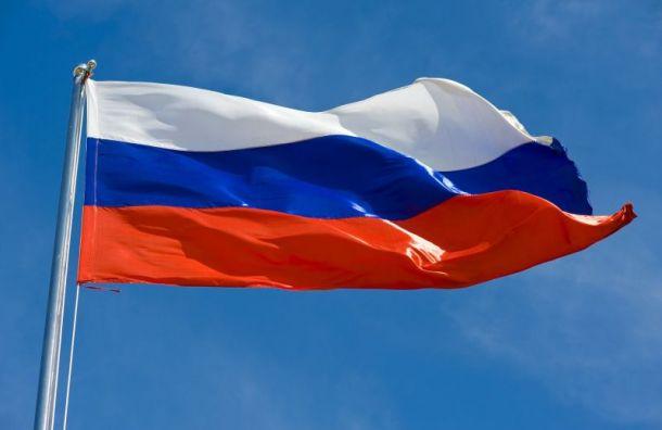 Неизвестные сорвали флаг России сФрунзенского районного суда