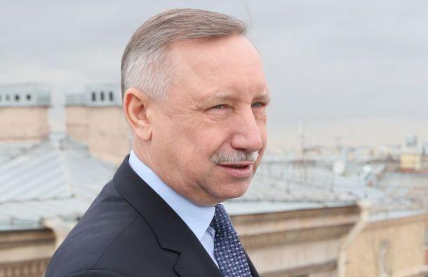 Беглов попросил петербуржцев невыходить издома