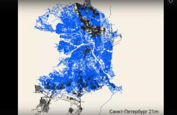 Урбанисты показали, что будет сПетербургом при крупном наводнении