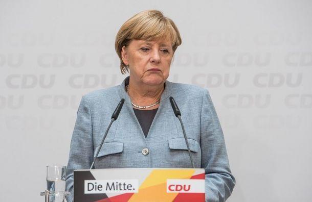 Меркель отправилась накарантин