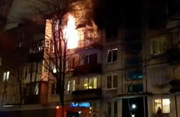 Труп мужчины нашли всгоревшей квартире наБелы Куна