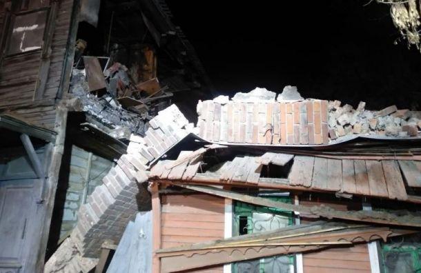 Жилой дом вСамаре взорвался