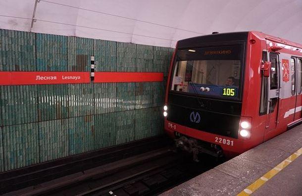Коронавирус изменил расписание поездов впетербургском метро